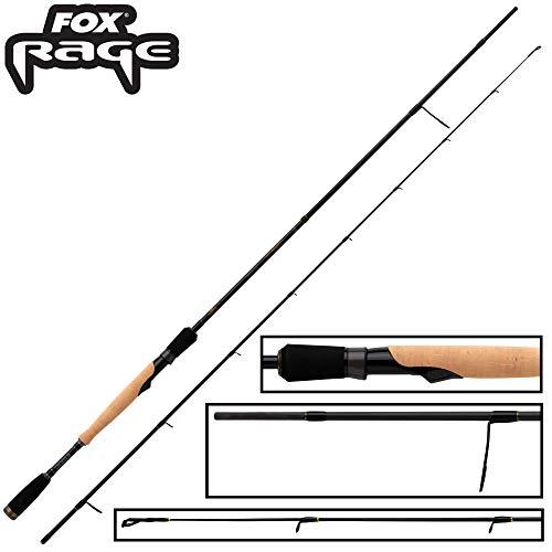Fox Rage Terminator Spin Finesse 2,10m 5-21g - Spinnrute zum Spinnfischen auf Barsche & Zander, Barschrute, Jigrute, Angelrute