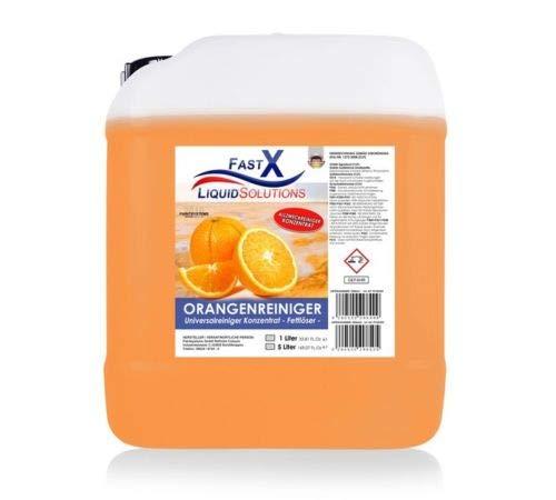 Orangenreiniger Konzentrat 5 Liter Fettloser Fleckentferner Universalreiniger