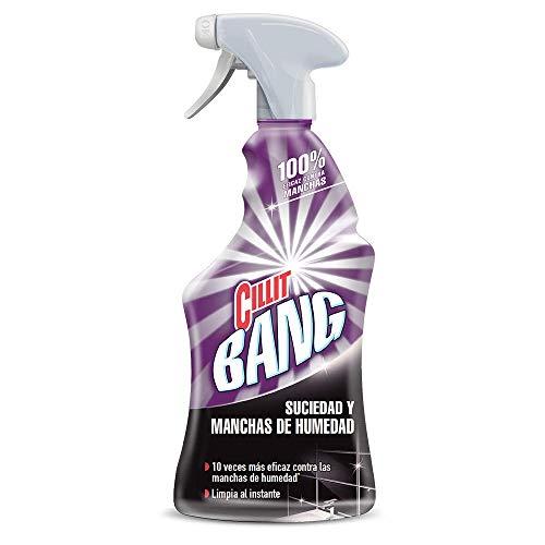 Cillit Bang - Spray Limpiador Suciedad y Manchas de Humedad, para baños...