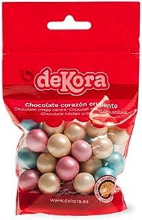 Dekora - Perlas de Chocolate Crujientes de Colores para