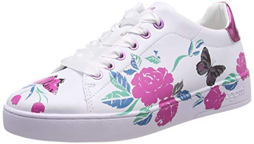 bugatti Damen 431291145959 Sneaker, Mehrfarbig (White/Trends 2080), 40 EU