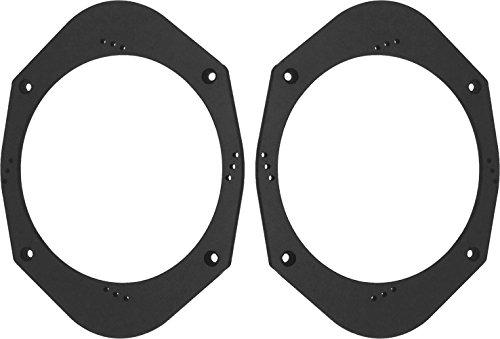 "Speaker Adapter Spacer Rings SAK006_55 Universal 5x7"" or 6x8"" to 6 1/2"" 6.5 Speaker Adapter Spacer Rings - 1 Pair - SAK006_55"