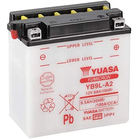 Motorrad Batterie Yuasa 12n5 3b 12v 5 5ah Maße 138x61x131 Auto