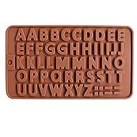 アルファベットシリコンモールドレターチョコレートモールドケーキデコレーションツールトレイフォンダンモールドゼリークッキーベーキングモールド