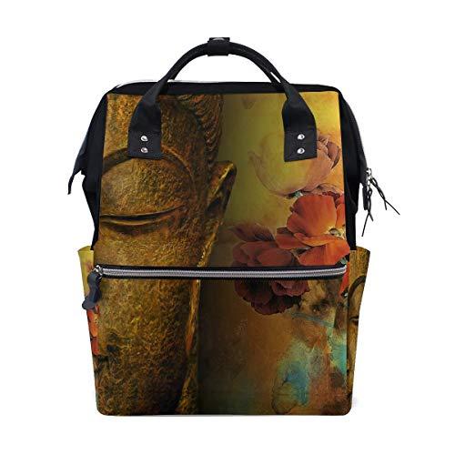 FHTDH Mummy Bag Backpack Realistic Sunset Scene School Bag