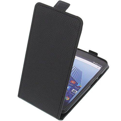 foto-kontor Tasche für Archos Access 55 3G Smartphone Flipstyle Schutz Hülle schwarz