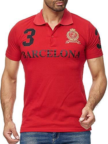 Heren Barcelona Barca T-shirt top shirt Clubwear Shortsleeve kraag polo M-5XL