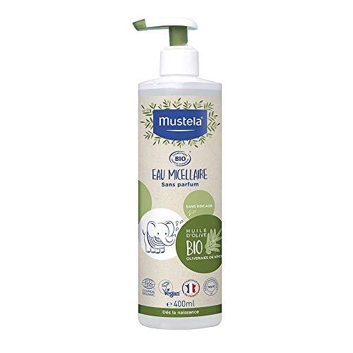 MUSTELA Agua Micelar Bio 400ml válvula dosificadora, Negro, 400