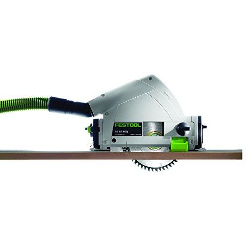 Festool Model TS 55 REQ Plunge Cut Saw with T-Loc and Rail