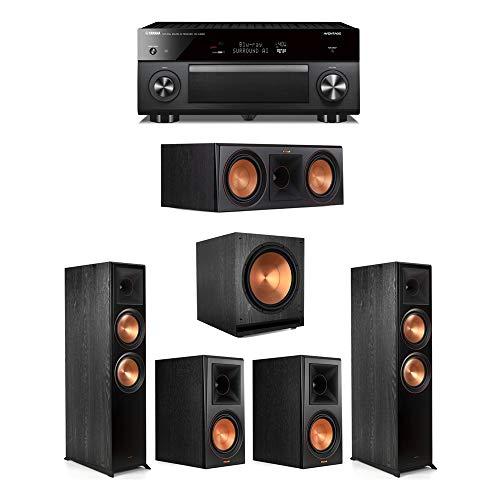 Best Bargain Klipsch5.1.2 Ebony System - 2 RP-8060FA,1 RP-404C,2 RP-402S,1 SPL-150,1 RX-A3080 Rece...