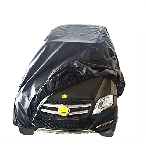 Large Kids Ride-On Toy Car Cover, Outdoor Wrapper Resistant Protection for Electric Battery Powered Children Wheels Toy Vehicles-Universal Fit, Water Resistant, UV Rain Snow Protection (black)