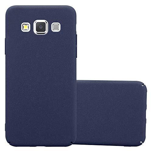Cadorabo Custodia per Samsung Galaxy A3 2015 in Frosty Azzurro - Rigida Cover Protettiva Sottile con Bordo Protezione - Back Hard Case Ultra Slim Bumper Antiurto Guscio Plastica