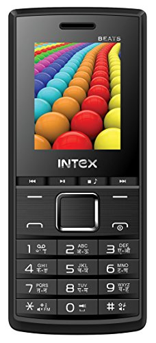 Intex Eco Beats (Dual SIM, Black-Grey)