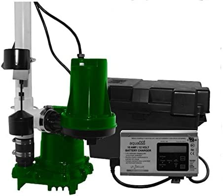 new arrival Zoeller lowest 508-0006 Aquanot 508 ProPak53 Preassembled Sump Pump outlet sale System with Battery Back-Up sale