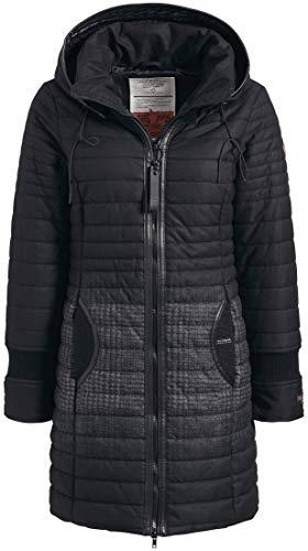 khujo Daily2 Jacket 1131JK183-HS8 Damen-Winterjacke Black Radient Print Gr. XS