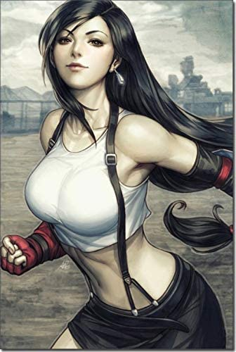 artwu Tifa Lockhart Poster Wall 35%OFF ご注文で当日配送 for Art Decorations Home Be