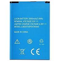 新品ZTE携帯電話バッテリーFor ZTE Blade L370 Blade L2 Plus Li3820T43P3h785440内蔵バッテリー交換用のバッテリー 電池互換2000mAh/7.6Wh 3.8V