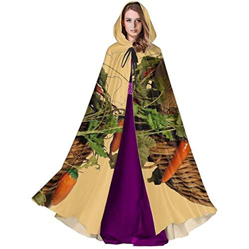 Zome Lag Vampir kostuum, volwassene Deluxe omhang,hekmagie omhang,kap met capuchon, paashaas Pasen decoratie Pasen figuur Halloween Cape Omhang Cape
