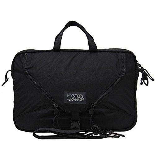 MYSTERY RANCH/ミステリーランチ 3WAY BRIEFCASE/3ウェイブリーフケース ビジネスバッグ/リュックサック/バックパック/鞄 メンズ ブラック [並行輸入品]