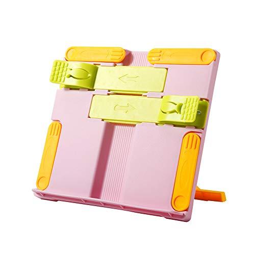 POHOVE Leseständer für Kinder, tragbar, verstellbar, faltbar, Buchhalter, Tablet-Ständer, Leseständer zum Lesen