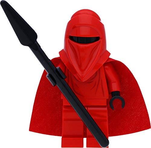 LEGO Star Wars Minifigur: Royal Guard / Imperiale Ehrengarde mit rotem Umhang und Speer