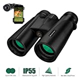 Best Concert Binoculars - Binoteck 12x42 Binoculars for Adults Weak Light Vision Review