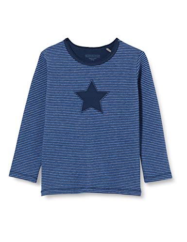 bellybutton Baby-Jungen Sweatshirt T-Shirt, Allover|Multicolored, 86