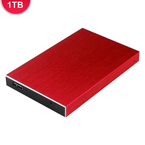 Zexa Disco Duro Externo, USB3.0 1TB Disco Duro Portátil Portátil Almacenamiento HDD Portátil para PC Tablet