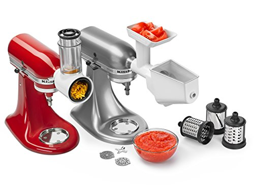 Kitchenaid 5KSMFPPC Set di 3 Accessori per Robot da Cucina KitchenAid