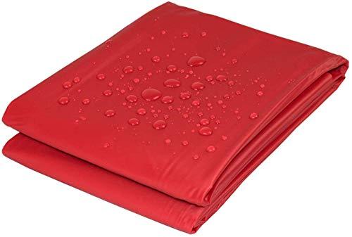 Delindo Lifestyle® Lackdecke HAPPY TOUCH rot, wasserdichte Decke bzw. Bettlacken für Massagen ohne Latex Bestandteile, 210 x 210 cm