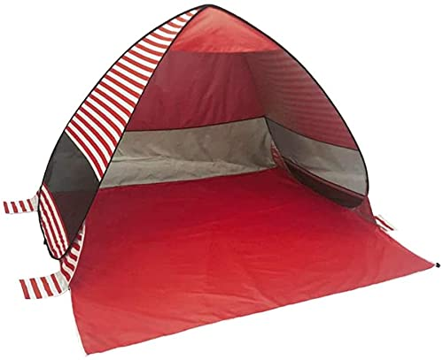 Ankon Easy Pop Up Beach Sun Shelter Tienda portátil al Aire Libre Camping Beach Tent Sun Shelter Antiople Vented Sombrera para Picnic Familia Persona con Bolsa de Almacenamiento de Transporte