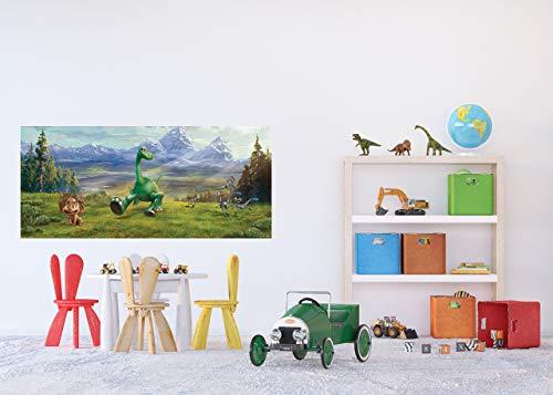 AG Design FTDH 0654 Arlo & Spot Disney papieren fotobehang voor kinderkamer, meerkleurig, 202 x 90 cm