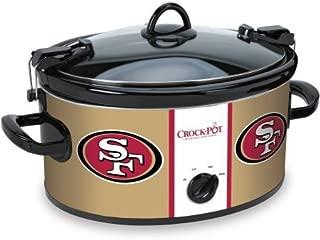Crock-pot SCCPNFL603-SF San Francisco 49'ers Slow Cookers, White