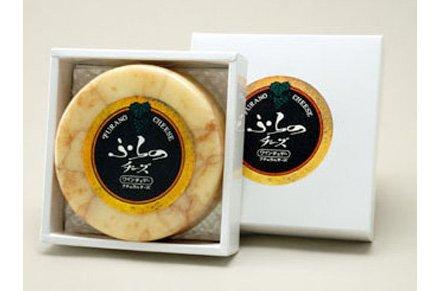 【富良野チーズ】ワインチェダー(丸型)【産地ふらのチーズ工房】
