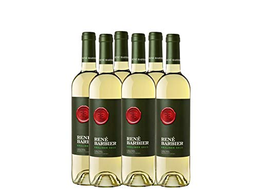 Rene Barbier - Kraliner - Vino Blanco Seco, Botella 75 cl (D.O. Catalunya) - Pack de 3 Botellas de 750 ml - Total: 2250 ml