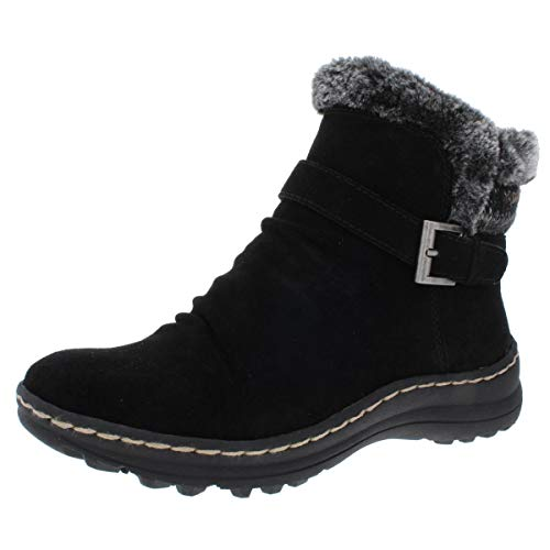 BareTraps Womens Arlow Leather Closed Toe Ankle Cold