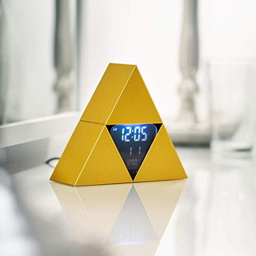 Paladone Legend of Zelda Triforce Alarm Clock, Estándar