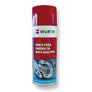 Wurth alto rendimiento seco lubricante para cadenas + Wurth moto ...