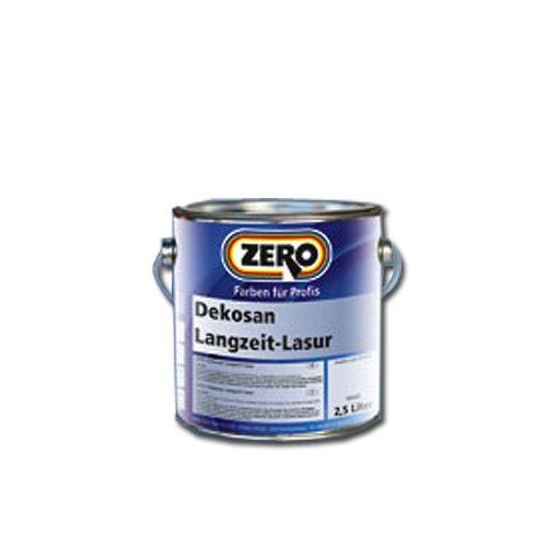Zero Dekosan Langzeit-Lasur 2,5 Liter Eiche dunkel