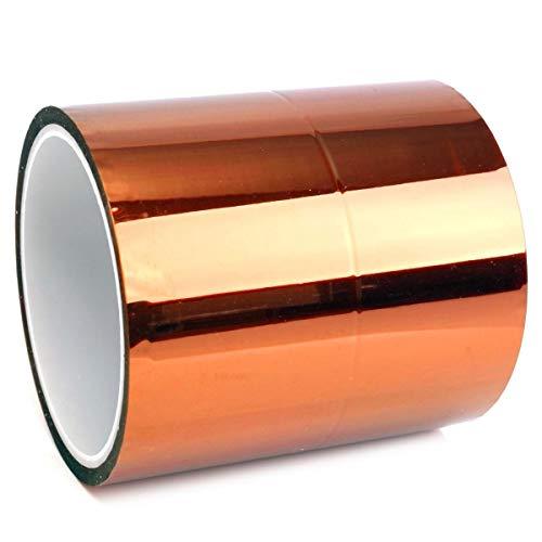 ZOYOSI Poliimida resistente al calor de alta temperatura de la cinta de Kapton de 100m m 10cm x 30m