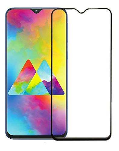 Efficia Full Protection Tempered Glass for Samsung Galaxy A01 Top Notch Edge to Edge Full Screen Coverage [Anti-Scratch] [Gorilla] [Free Cleaning Kit Included]