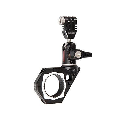 iSHOXS kompakter Aluminium Roll-Bar Mount - BullBar Prox 34 (30-34 mm), Action-Cam Halterung mit 360° Swivel Modul passend für GoPro und kompatible Action- und Sport-Kameras