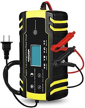 HAUSPROFI 12V 24V Car Smart Battery Trickle Charger