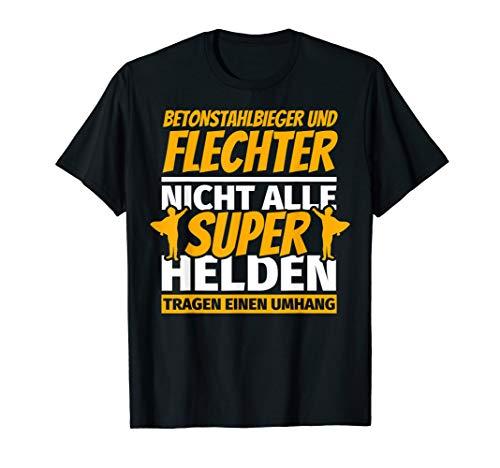 Betonstahlbieger und flechter lustig Geschenk T-Shirt