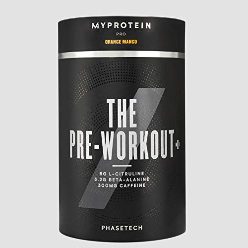 Myprotein The Pre-Workout Plus Orange Mango 360g - 360 g