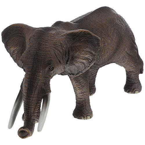 TOYANDONA Juguete Modelo de Elefante Figura de Acción Animal Figura de Elefante...