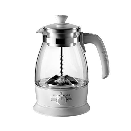 2 in 1-Tee-und Wasserkocher 1L Teekocher Elektrisch Teemaschine Brüh-Funktion (Teeaufbereiter) mit Permanent-Edelstahl-Teefilter (herausnehmbar)600W B