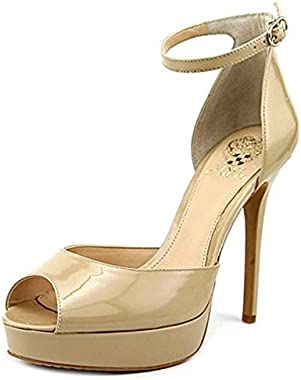 Vince Camuto Lillith Women Peep-Toe Synthetic Heels Blush