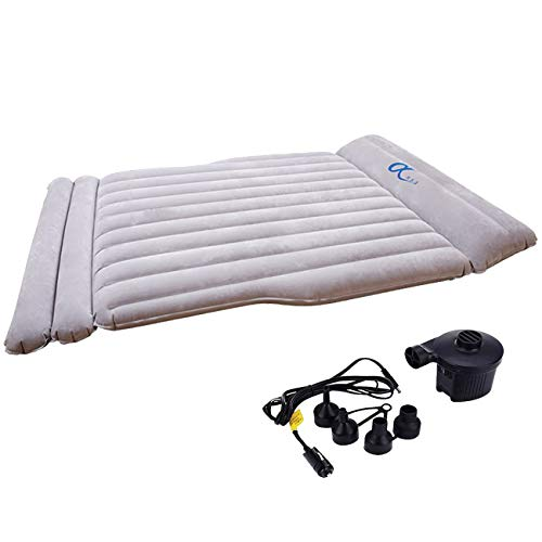 Model 3 Car Inflatable Mattress with Air Pump for Camping Travelling Sleeping,Car Inflation Bed Air Bed For Model S Model 3 and alomst all Cars, SUV