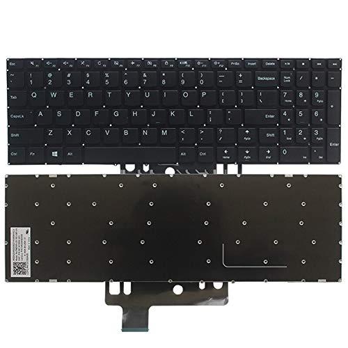 100% US teclado para Lenovo yoga 510-15 510-15IKB 510-15ISK US teclado portátil negro sin retroiluminación